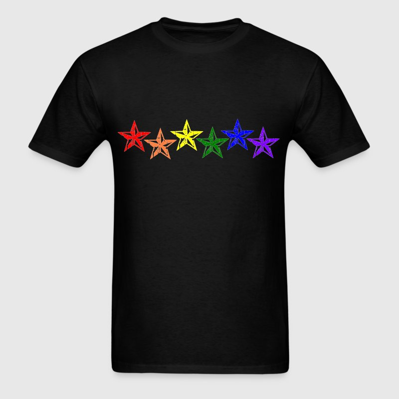 Pride Stars - Men's T-Shirt