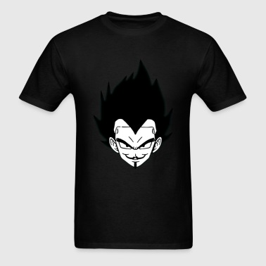 MAshup Anonymous-vegeta - Men's T-Shirt