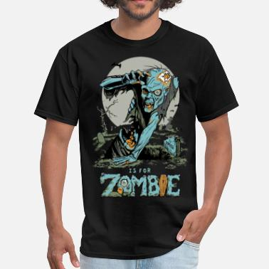 Z House Z is for Zombie - Men's T-Shirt