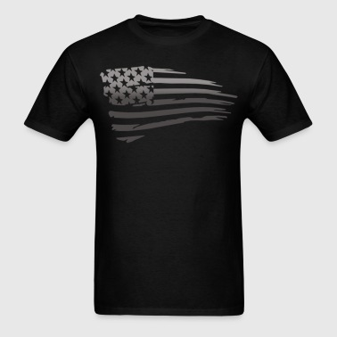 Battle Torn Flag - Men's T-Shirt