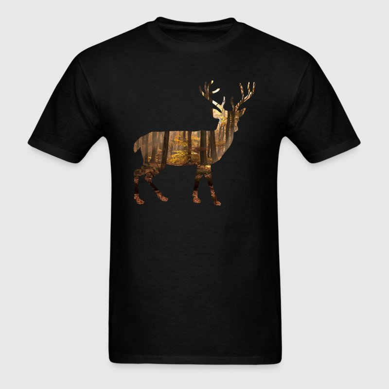 deer silhoutte - Men's T-Shirt