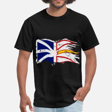 Nl DISTRESSED WAVING NL FLAG - Men's T-Shirt