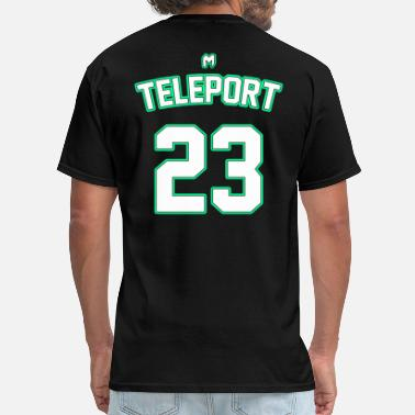 Teleporter Player T-Shirt | Teleport - Men's T-Shirt