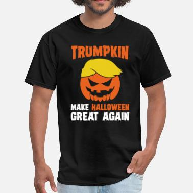 Make Halloween Great Again Donald Trumpkin Make Halloween Great Again Adult T - Men's T-Shirt
