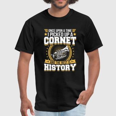 Cornet And the Rest is History T-Shirt - Men's T-Shirt