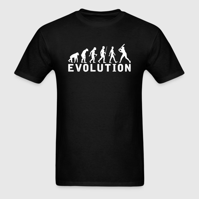 Female Baseball Evolution T-Shirt - Men's T-Shirt