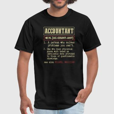 Accountant Badass Dictionary Term T-Shirt - Men's T-Shirt