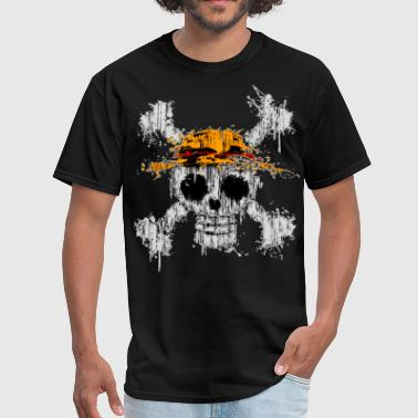One piece Skull - Men's T-Shirt