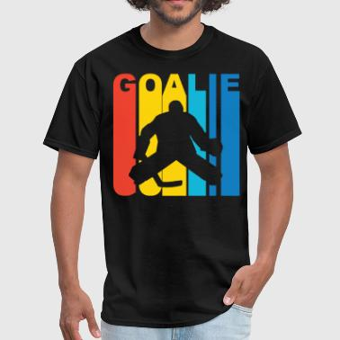 Hockey Goalie Silhouette Hockey Goalie Silhouette Sports T-Shirt - Men's T-Shirt