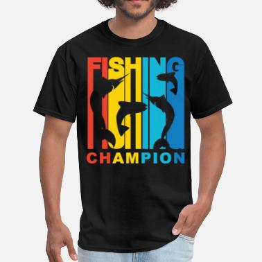 Fishing Champion Fishing Champion Retro T-Shirt - Men's T-Shirt