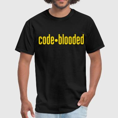 code blooded - Men's T-Shirt