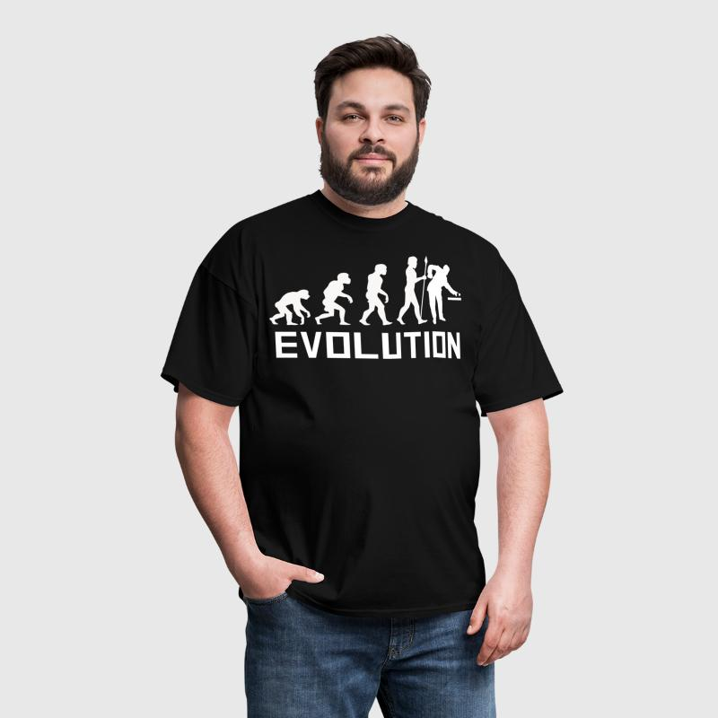 Pool Player Evolution Funny Billiards Shirt - Men's T-Shirt