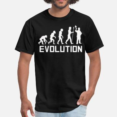 Evolution Butcher Butcher Evolution Funny Butcher Shirt - Men's T-Shirt