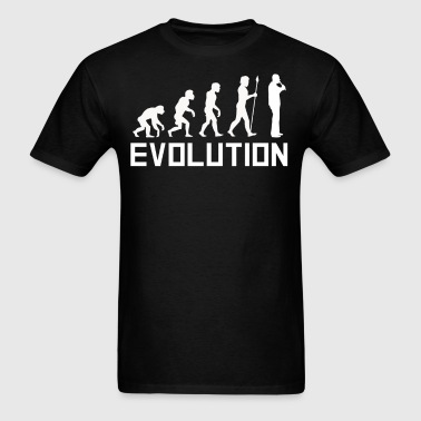 Recorder Player Evolution Funny Music Shirt - Men's T-Shirt