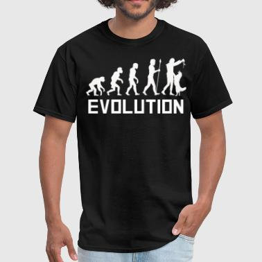 Dog Trainer Evolution Funny Dog Training Shirt - Men's T-Shirt