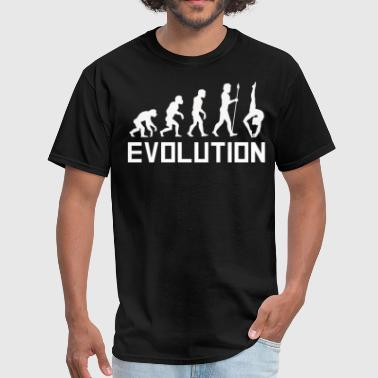 Gymnast Evolution Funny Gymnastics Shirt - Men's T-Shirt