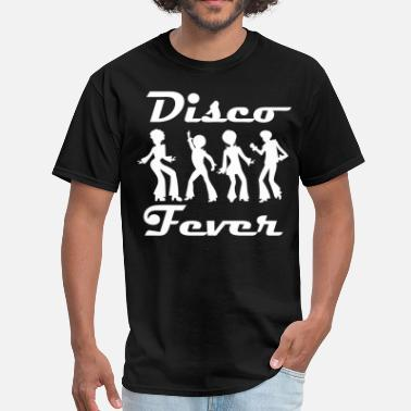 Disco Dancer Silhouette Disco Fever Disco Dancers - Men's T-Shirt