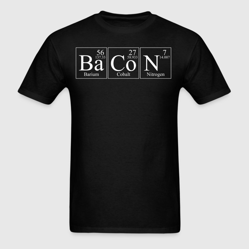 BaCoN Barium Cobalt Nitrogen Periodic Elements - Men's T-Shirt