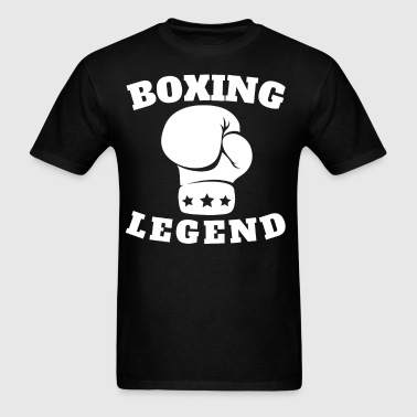 Boxing Legend Boxing Glove - Men's T-Shirt