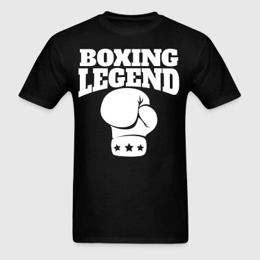 Retro Boxing Legend Boxing Glove - Men's T-Shirt