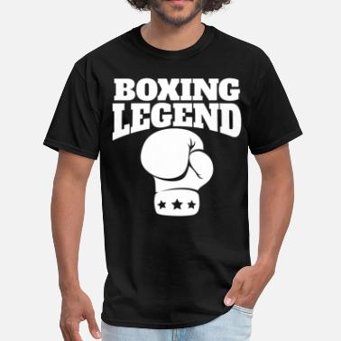Boxing Legend Retro Boxing Legend Boxing Glove - Men's T-Shirt