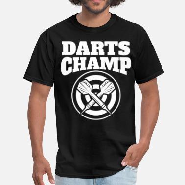 06b01237 Dart Champs Darts Champ Retro Darts - Men's T-Shirt