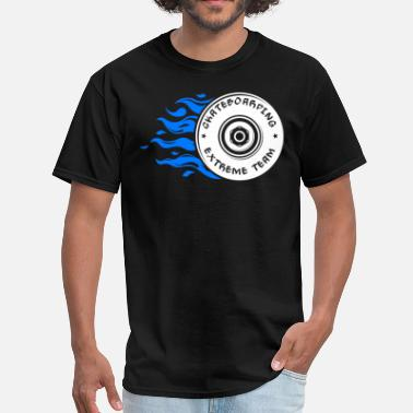 Team Extreme Skateboarding Extreme Team Skateboarding Wheel - Men's T-Shirt
