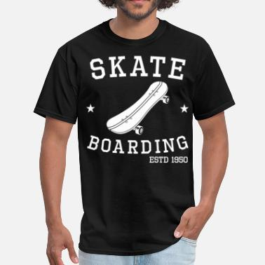 Established Sport Skateboarding Established 1950 Skateboarder - Men's T-Shirt