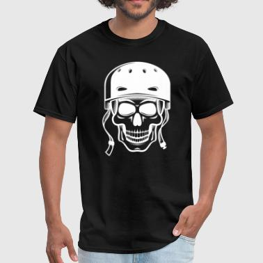 Graphic Skull Skater Skull Skateboarding Graphic - Men's T-Shirt