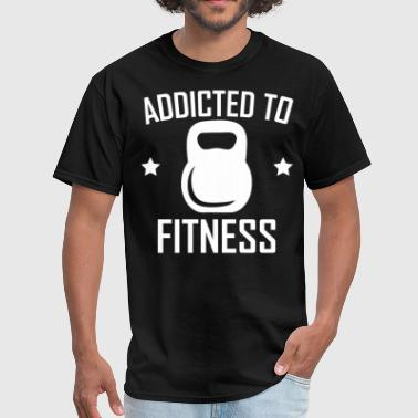 Addicted To Fitness Kettlebell Training - Men's T-Shirt