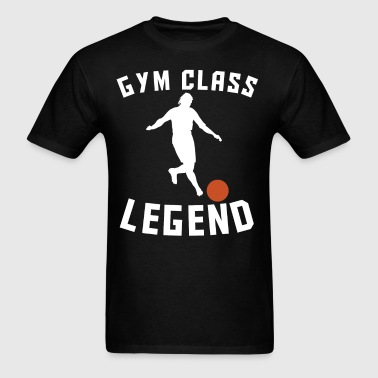Gym Class Legend Funny Kickball - Men's T-Shirt