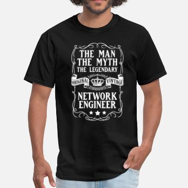Network Engineer Network Engineer  The Man The Myth T-Shirt - Men's T-Shirt