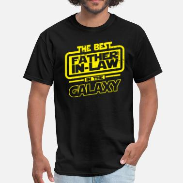 Best Father The Best Father In Law In The Galaxy - Men's T-Shirt