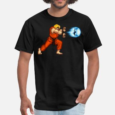 Fighter KEN Fireball - Men's T-Shirt