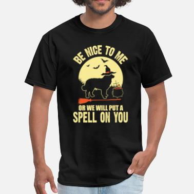 Spell Bernese Mountain Dog Spell on You Halloween Costum - Men's T-Shirt