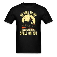 Scottish Terrier Spell on You Halloween Costume - Menu0027s T-Shirt  sc 1 st  Spreadshirt & Scottish Terrier Spell on You Halloween Costume by kamikaza ...