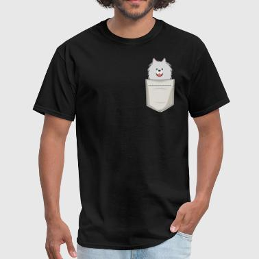 Spitz In a Pocket - Men's T-Shirt