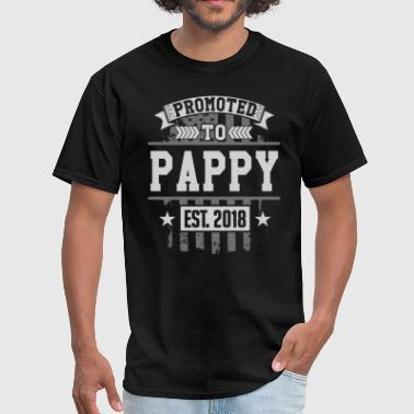 Promoted to Pappy 2018 - Men's T-Shirt