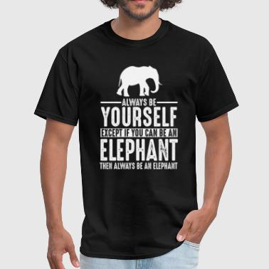 Elephant Lovers Elephant Gift Lover - Men's T-Shirt