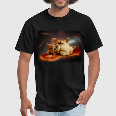 bacon cat in space.png - Men's T-Shirt