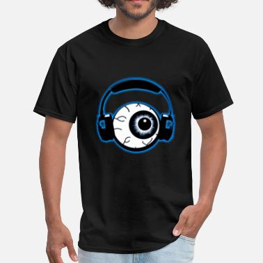 I Wub Dubstep DubstepLyrics Eyeball - Men's T-Shirt