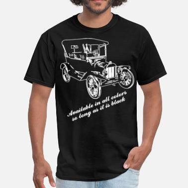 Henry Ford Ford model T color chart - Men's T-Shirt