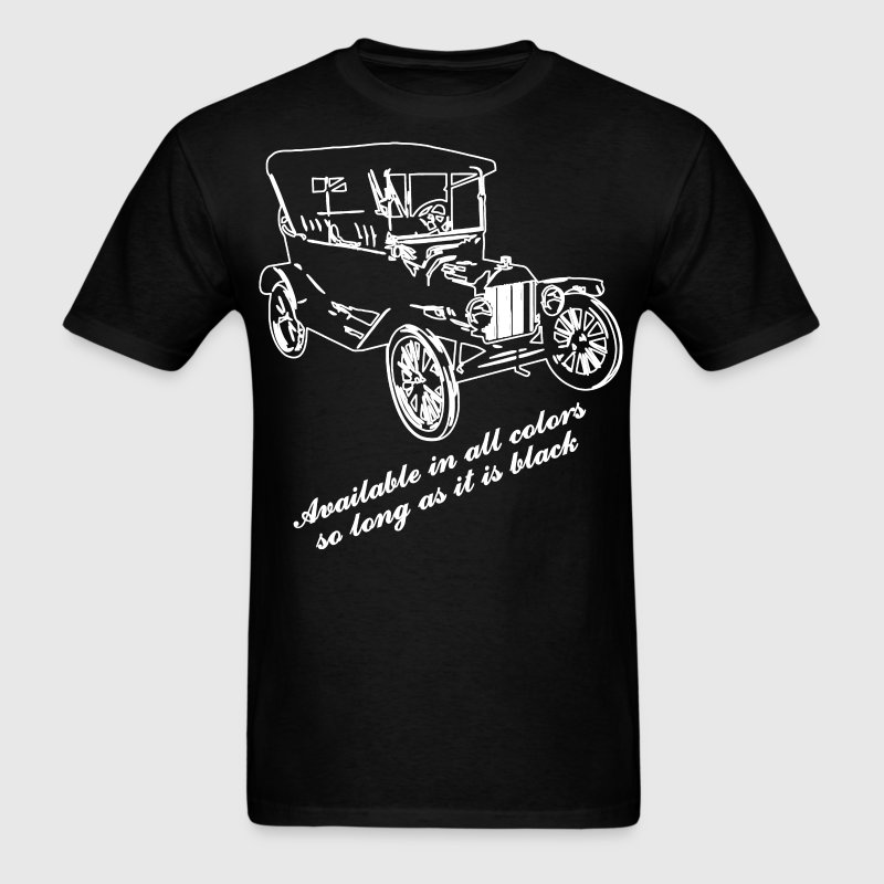 Ford model T color chart - Men's T-Shirt