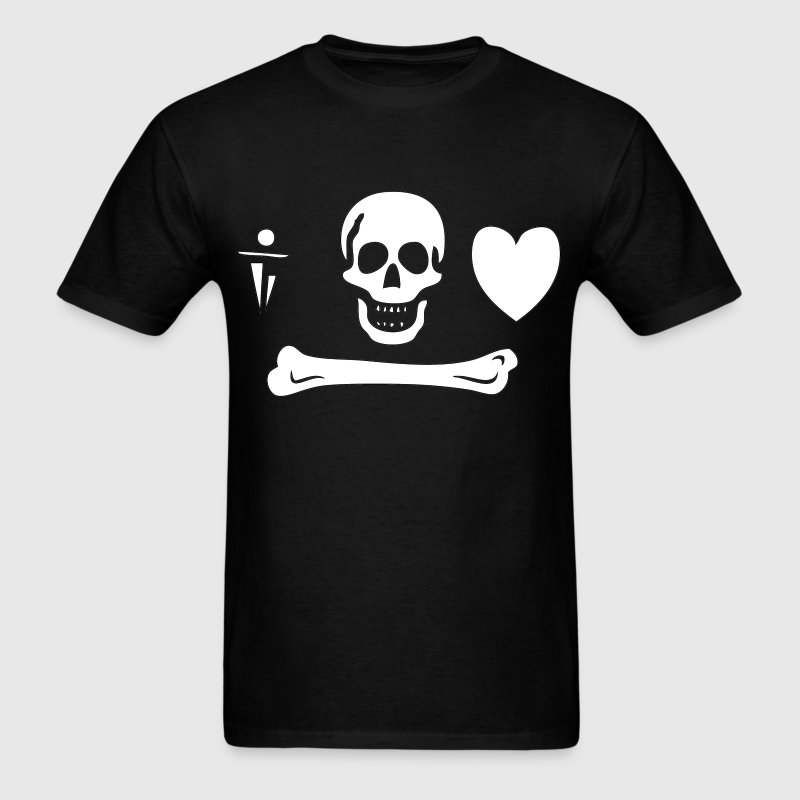 Stede Bonnet Pirate Flag - Men's T-Shirt