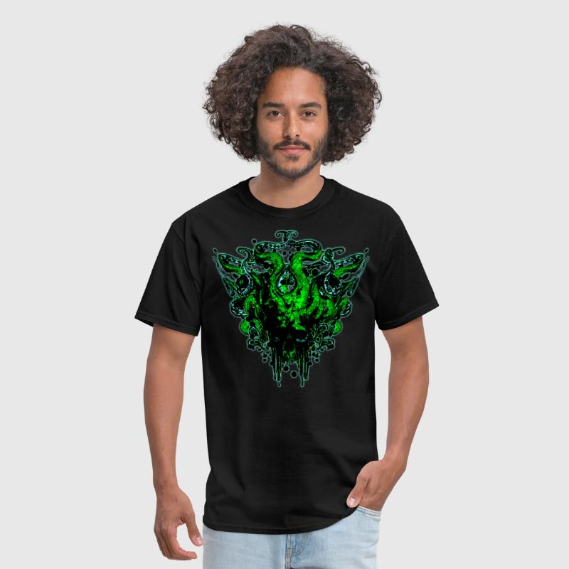 medusa gorgon skull - Men's T-Shirt