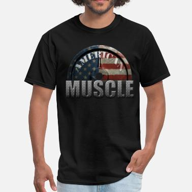 Muscle Car AMERICAN MUSCLE - Men's T-Shirt