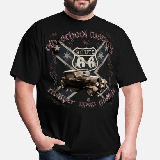 Vêtements pour homme T shirt T shirt Classic Route 66