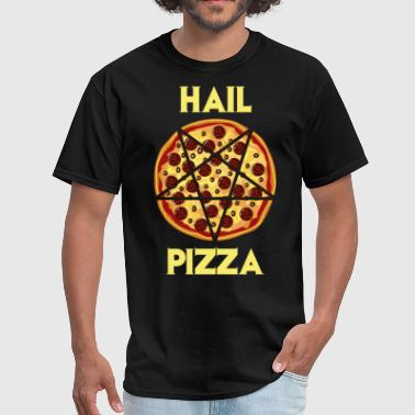 Hail Pepperoni Pizza - Men's T-Shirt