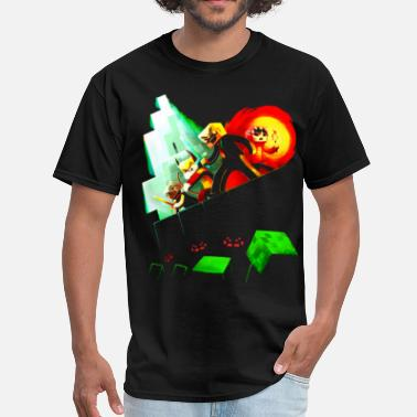 Blocky Blocky Peril T-Shirts - Men's T-Shirt
