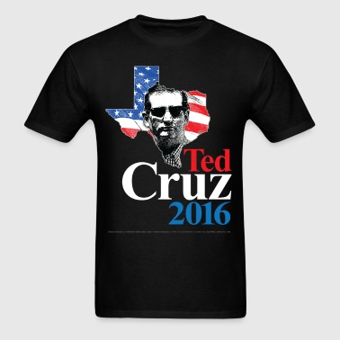Ted Cruz 2016 American Swagger (on dark) - Men's T-Shirt